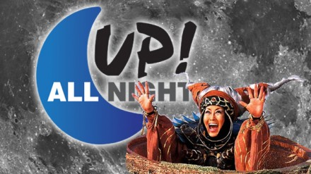 Up! All Night: The Mighty Morphin' Assholes