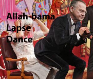 Savino Veritas does the Allah-bama Lapse Dance