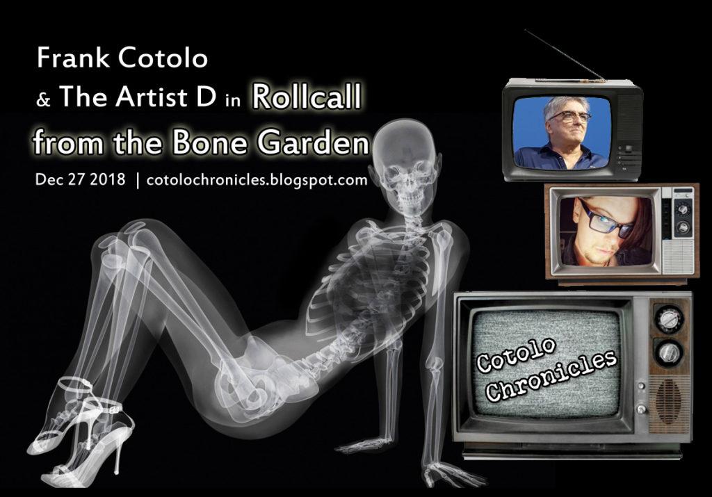 Roll Call from the Bone Garden 2018