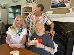 Charles Dennis, Ulrika, with Ed Asner